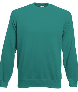 Fruit-of-the-Loom-Herren-Raglan-Sweatshirt-Pullover-S-M-L-XL-XXL-ohne-Kapuze